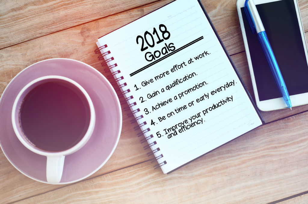 New Years Resolutions Business Goals for 2018